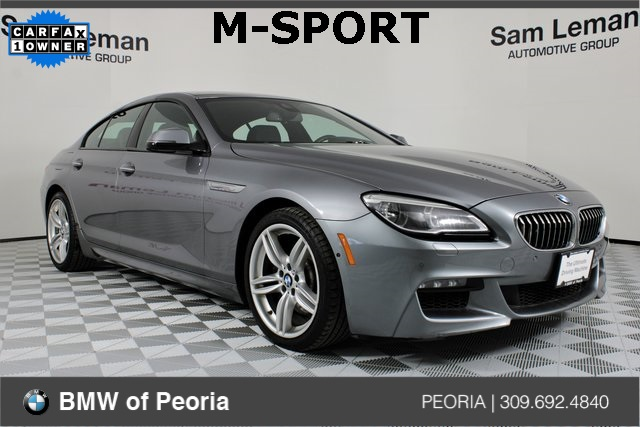 Pre-Owned 2016 BMW 6 Series 640i xDrive Gran Coupe