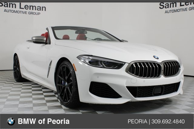 New 2020 Bmw 8 Series M850i Xdrive 2d Convertible In Peoria W5909
