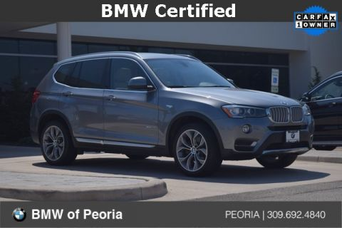 Certified Pre Owned 2015 BMW X3 XDrive28i AWD ...