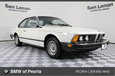 Pre-Owned 1984 BMW 6 Series 633CSi