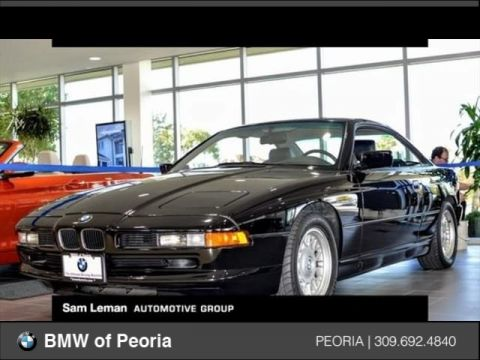 Pre-Owned 1991 BMW 8 Series 850i